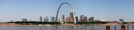 st. louis arch pano