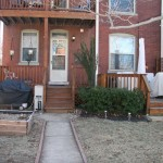 3901 Magnolia backyard
